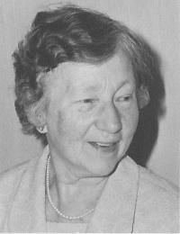Betsy Simonis ongeveer in 1970
